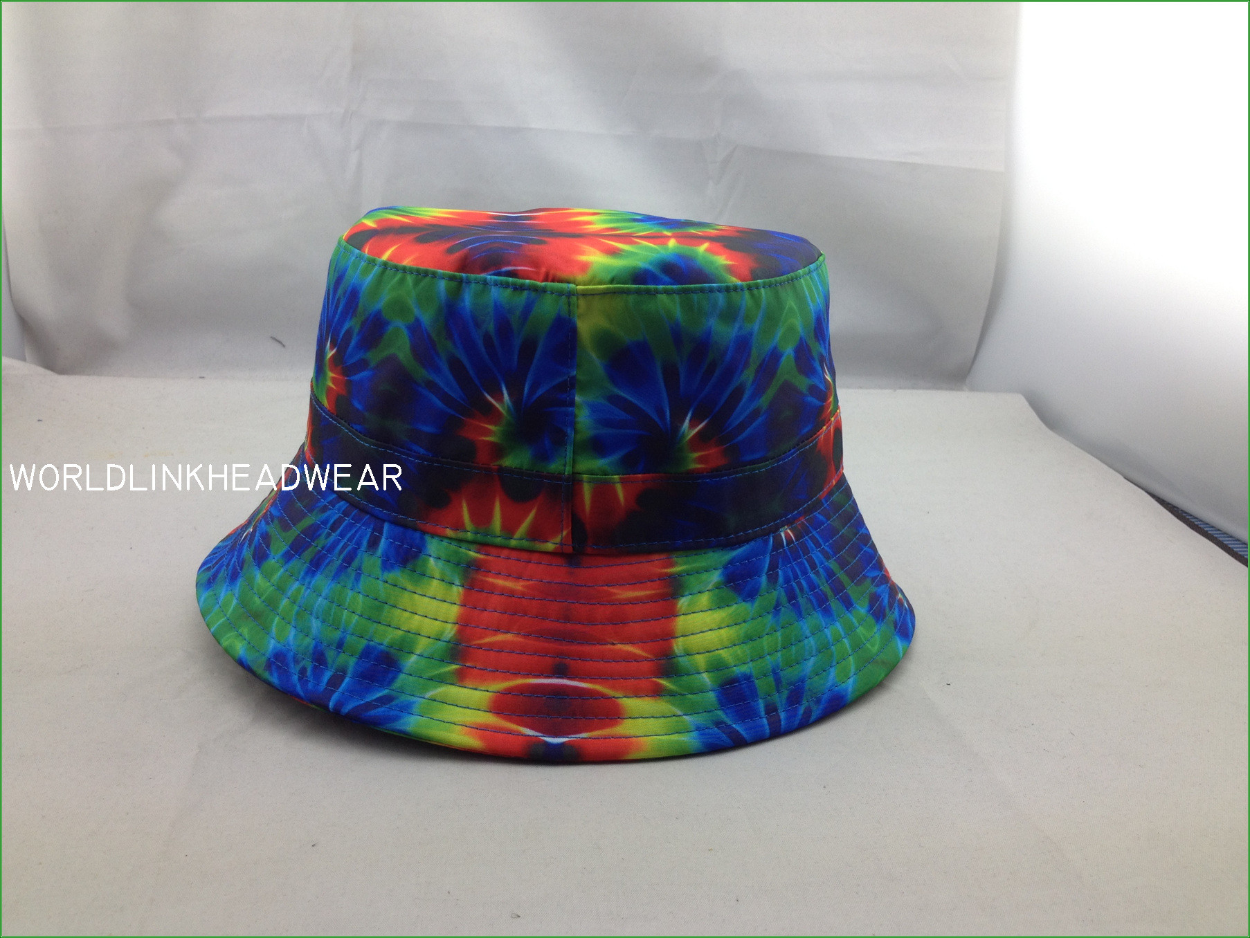 9cd007d2276 Custom tie dyed bucket hats  ...