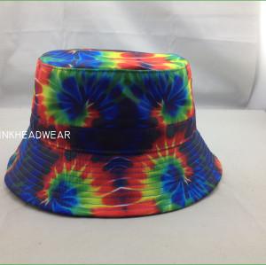 tie dye bucket hat,Designer Bucket Hats Hawaiian Pink Floral Print Bucket Hat Beach Fishing Outdoors Custom Bucket Hats Bulk