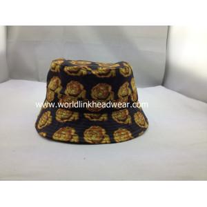 fashion Custom print bucket hats;design bucket hat on line;customize cotton cap