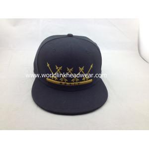 2015 high quality 3D embroidery customized sticker snapback hats bulk