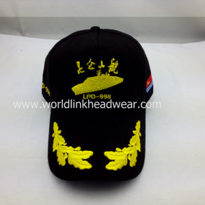 custom baseball cap/promotional baseball cap ;customize 3D embroidery camo baseball cap ;design 6-panel cap
