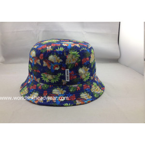 hot sale printed  bucket hats;Custom Bucket Caps and Custom Bucket Hats;sublimation bucket hat