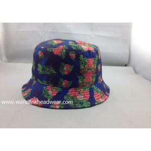 Custom all over print bucket hat;wholesale sublimation bucket cap;Blank or Design Online Custom Bucket Caps