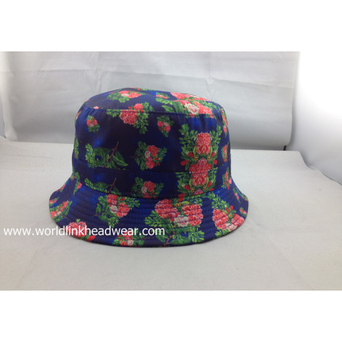 custom all over print bucket hat wholesale sublimation bucket cap