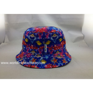 customsublimation bucket hat;High Quality Sublimation Bucket Hat,Full Printing Bucket Hats,Full Color Bucket Hat