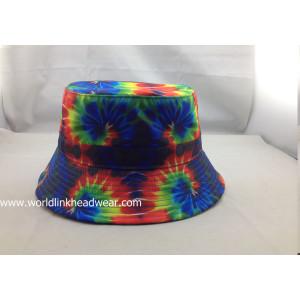 plain bucket hat wholesale;blank bucket hat;print color bucket hat;custom fabric bucket hat