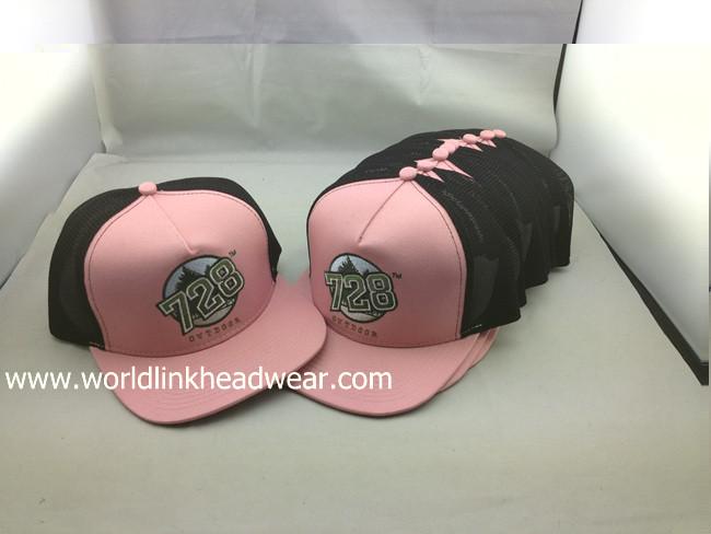 mesh snapback hats/caps
