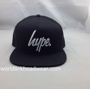 Customize Flat Bill Hats Snap Back/Snapback Caps Wholesale 5 Panel Cap Baseball Hat;hip hop cap