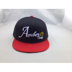 custom mesh cap;3D embroidery snapback hat;Good quality promotional custom trucker hat