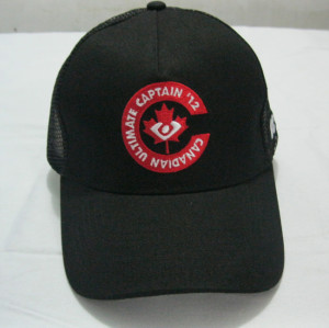 custom cotton / ployester promotional trucker mesh cap / fashion foam truck mesh hat/cap