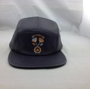 custom five panel hat;cheap  5-panel cap print pattern,wholesale flat peak five panel hat brands