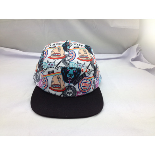 2820a9363567b custom 5 Panel hat,wholesale thrasher FIve Panel Hats printed pattern,flat  brim design your own 5 panel hat