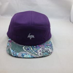 custom color mixture 5 panel hat,5 panel hat