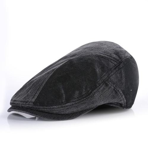 bebca67b customNew Mens Denim Flat Cap/wholesale Cabbie Driving Hat Gatsby Ivy Irish  Newsboy