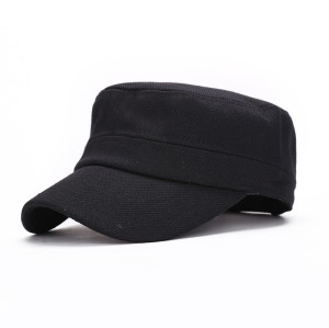 wholesale Cheap 100 cotton twill curved brim plain military caps for men and women