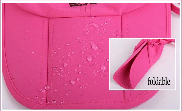 Sun Cap of Fabric Feature:Waterproof