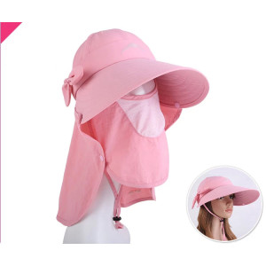 wholesale Sun UV protection cap/outdoor headwear multifunction fishing camping hat&cap/visor cap and hat