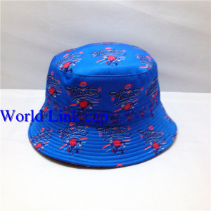 custom printed bucket hat;wholesale all over printing bucket hats;cotton bucket hat