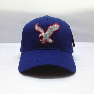 wholesale 3D embroidery eagle Baseball Cap ,custom EAGLES TEAM HAT