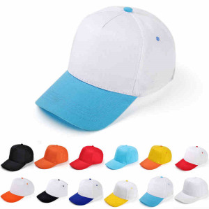 wholesale blank 5-panel baseball cap,custom colorful  promotional hat,cheap advertising  cap