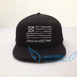 High quality Flat brim, cotton, snapback hats.  Hip hop style With one custom embroidered logo on the front
