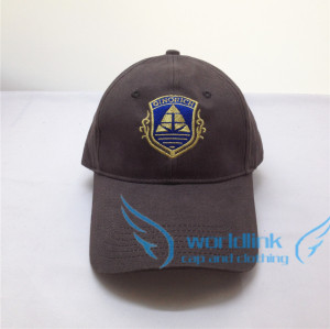 gold  thread national flag embroidery baseball cap,customize club cap hat