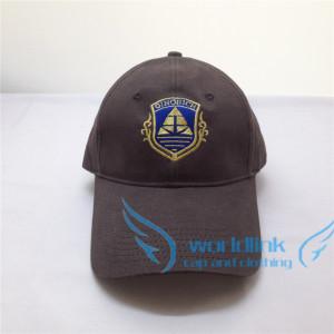 gold  thread national flag embroidery baseball cap,customize club cap hat