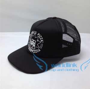 custom screen print snapback cap/trucker cap/mesh foam hat