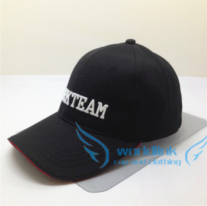 custom elastic fitted baseball cap-Breathable Composite soft  knitted elastic sweatband