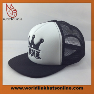 design your  foam mesh trucker cap