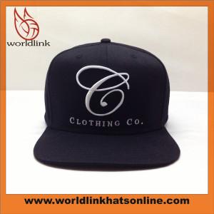 Custom 3D embroidery puff logo Snapbacks hat