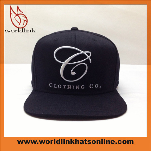 ae3b2cb3 Custom 3D embroidery puff logo Snapbacks hat   worldlink baseball ...