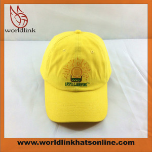 customize low profile unstructured baseball cap