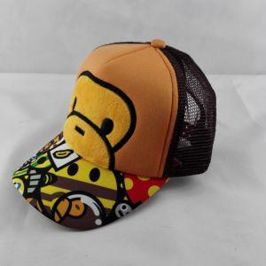 customize kid cap,wholesale children sun hat ,customized cute trucker cap