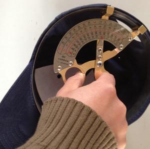 baseball cap measurer