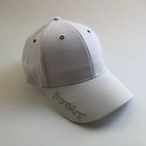 wholesale custom  Adjustable Strapback sport Cap with silver embroidery