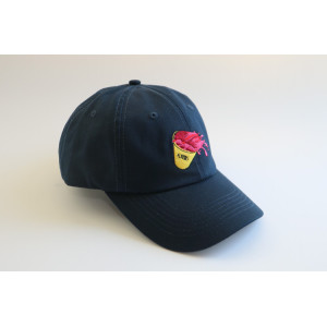 wholesale custom Embroidered 100% Cotton Adjustable Strap Cap