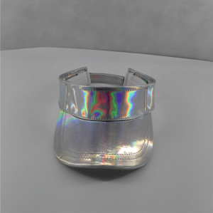 colorful reflective PU outdoor sun visor and sports baseball hats