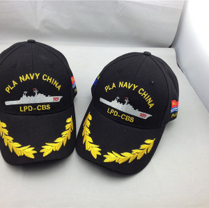 customize high quality navy army  baseball cap