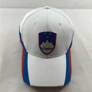 good quality baseball cap with 3D embroidery