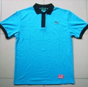 custom high quality comfortable short sleeve polo neck  cotton  t shirt