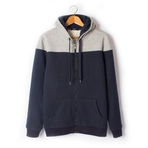 Custom  100% Cotton Zipper Man Hoody Sweater Long Sleeve Casual Sport Hoodies