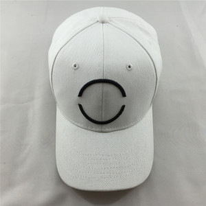 hight quality 10*10 heavy brushed cotton baseball sport cap with raised embroidery logo