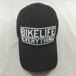 custom flexfit elastic sweatband baseball cap