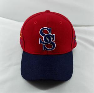 custom fitted elastic band baseball cap,soft warn wool caps