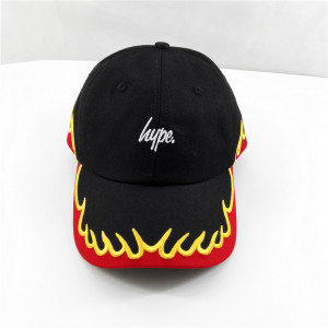 new style fire embroidery dad cap