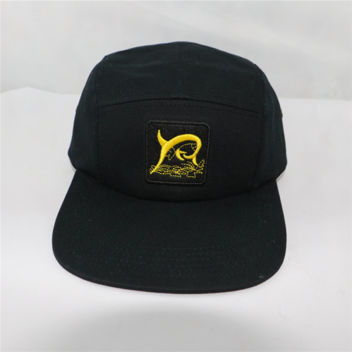 a1ddf8a2e9776 2017 custom long brim peak 5 panel hat with embroidery patch ...