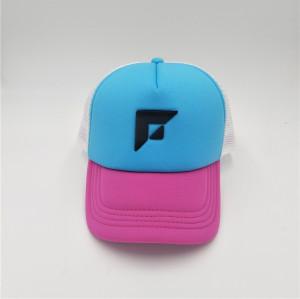 custom meshcurved visor cap with screen printing logo