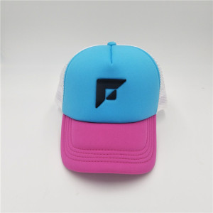 custom meshcurved visor cap with screen printing logo