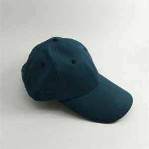 custom long brim / visor cap with adjustable strap China cap factory